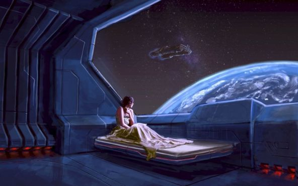 planets girl