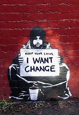 bansky change