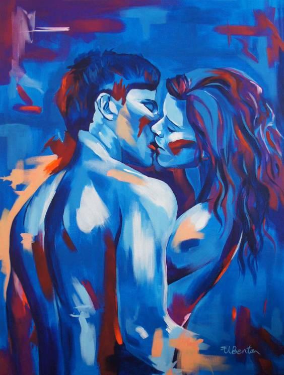 kissing ellie benton