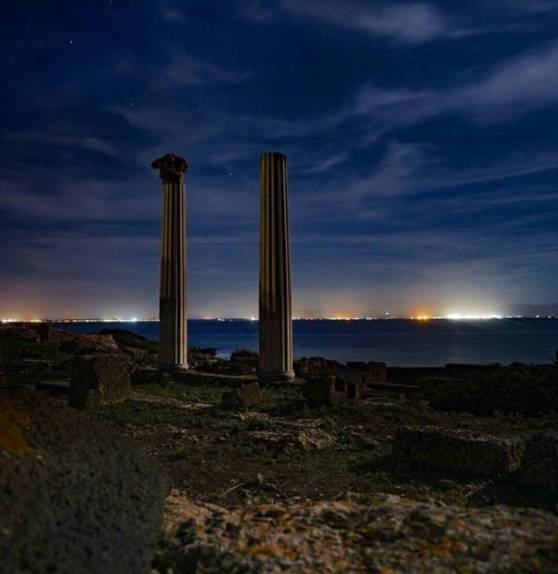 tharros night