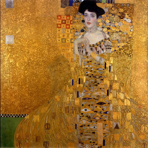 lady in gold Gustav_Klimt